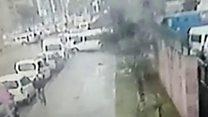 ازمیر میں ہونے والے دھماکے کی سی سی ٹی وی فوٹیج