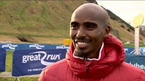 Sir Mo Farah is ready to run in Edinburgh