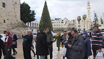 بيت لحم تستقبل سياح أعياد الميلاد رغم الصعوبات