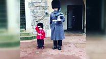 Королевские почести четырехлетнему малышу на день рождения