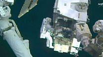 Первый выход в открытый космос на МКС в 2017 году