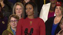 El último discurso de Michelle Obama