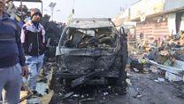 عشرات القتلى في تفجير استهدف أحد أكبر أسواق بغداد