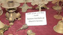 معرض يحكي قصة بعض قرى نينوى المدمرة