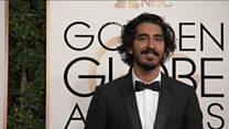 Screen stars on Golden Globes red carpet