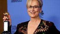 O discurso da atriz Meryl Streep contra Donald Trump