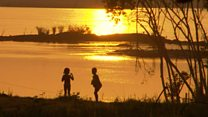 Amazon'da hidroelektrik barajına tepki