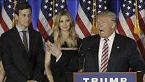 ترامب يعين صهره كبيرا للمستشارين