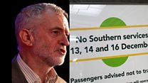 Corbyn: Nationalise our rail lines