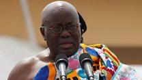 Ghana's plagiarising president