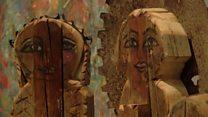 """""""هنا عرايس بتترص"""": معرض فني في مصر"""