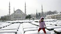पूर्वी य़ूरोप में शीत लहर