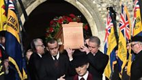Veteran's funeral supported after appeal