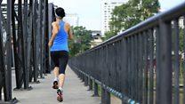 Kadın koşuculara taciz