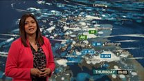 Warnings of snow and wind for Scotland