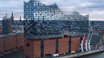 У середині нового концертного залу Гамбурга