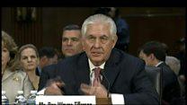 Tillerson: climate change exists