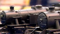 Rare model train collection goes up for auction