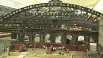 Railway station model revealed after 30 years