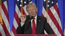Дональд Трамп заткнул рот журналистам