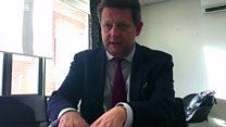 Alun Davies yn siarad gyda BBC Cymru Fyw