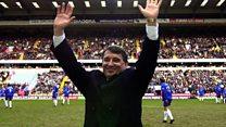 'I have four Christian names - Graham, former England manager'