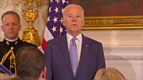 Obama surprises Biden with farewell honour