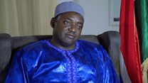 """Gambia's President-elect offers Yahya Jammeh """"direct talks"""""""