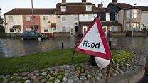 East coast storm surge threatens flood defences