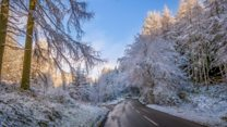 Winter wonderland in Northern Ireland
