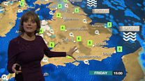 Forecast: Icy weather hits the UK