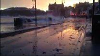 Scarborough surge flooding