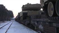 รถถังและกองกำลังอเมริกันในโปแลนด์