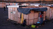 Migrant camp 'inhumane and unacceptable'