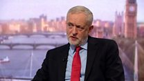 Corbyn: 'Threats risk trade war with Europe'