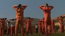 The prisoners using yoga to stop fights