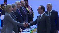 مؤتمر باريس: حل الدولتين لانهاء الصراع الفلسطيني الإسرائيلي