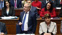 Foster accepts nomination as first minister