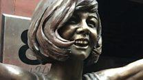 Cilla Black statue unveiled