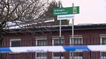 Mother 'heard a shot' as she dropped her son at nursery