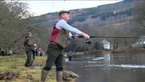 River Tay salmon fishing season opens