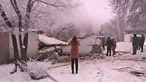 مقتل عشرات في تحطم طائرة شحن تركية فوق منازل في قرغيزستان