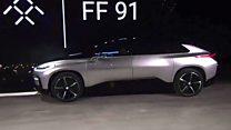 Taking a ride in Faraday Future's car