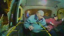 CCTV shows stone attack on passenger
