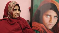 Afghan 'green-eyed girl' on her future