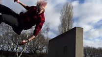 Parkour area opens in Nottingham