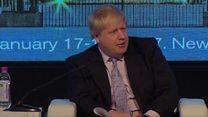 Boris Johnson warns EU against 'punishment beatings'