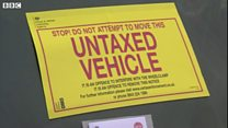 DVLA clamps down on untaxed vehicles