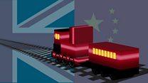 Китай запустил товарный поезд в Лондон