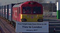 चीन से लंदन ट्रैन